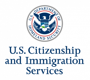 USCIS. US Citizenship and Immigration Services - Logo